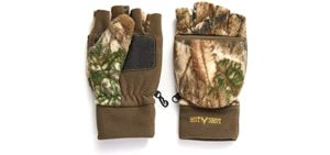 Camouflage Fingerless Gloves
